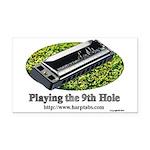 harmonica1 Rectangle Car Magnet
