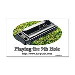 harmonica1 Rectangle Car Magnet