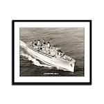 USS HECTOR Framed Panel Print