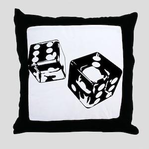 Dice Throw Pillow