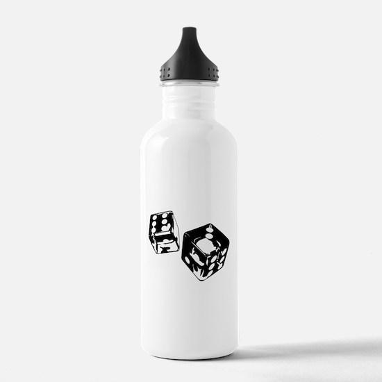 Dice Water Bottle