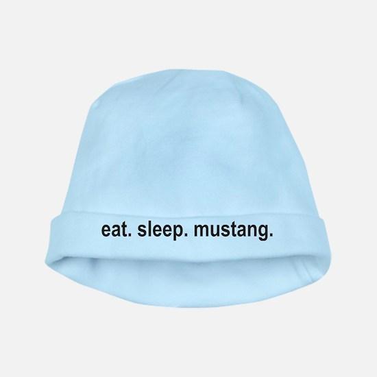 eat sleep mustang copy.png baby hat