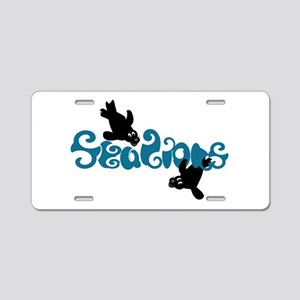 Sea Lions Aluminum License Plate