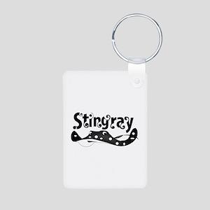 Stingray Aluminum Photo Keychain
