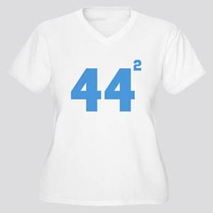 Obama 44 squared Plus Size T-Shirt