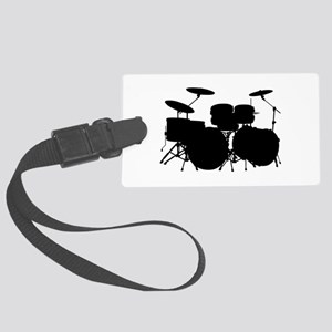 Drums Large Luggage Tag