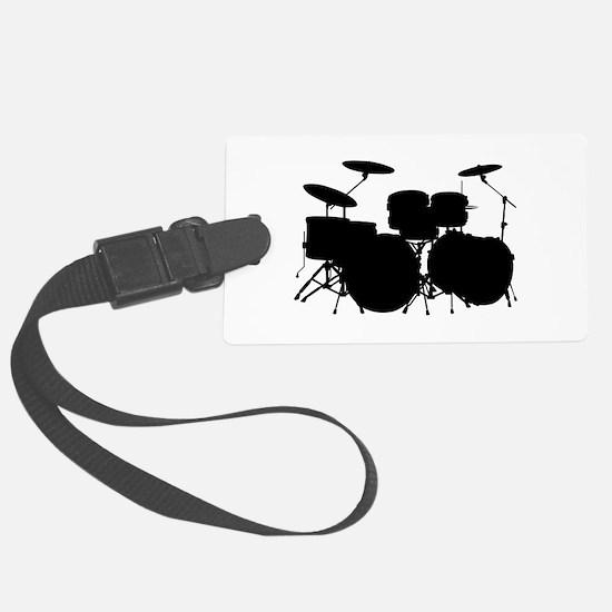 Drums Luggage Tag