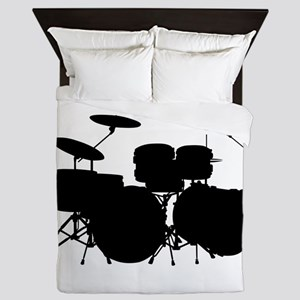 Drums Queen Duvet