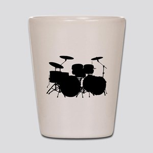 Drums Shot Glass