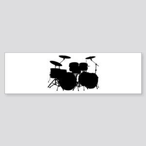 Drums Sticker (Bumper)