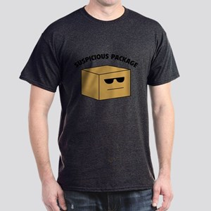 Suspicous Package Dark T-Shirt