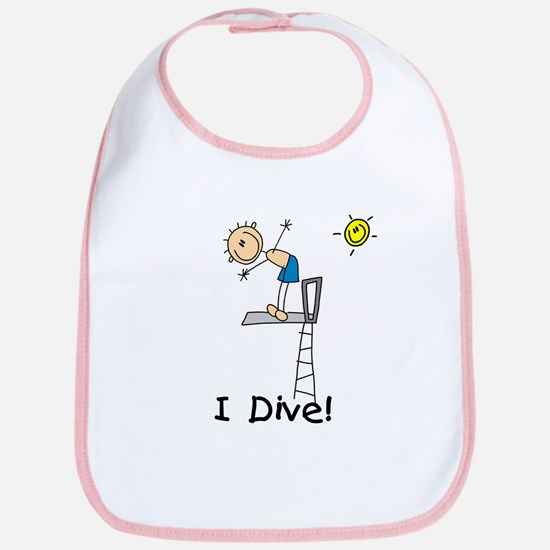 Boy I Dive Bib