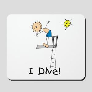 Boy I Dive Mousepad