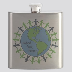 United For Peace Flask