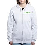 What a Geek Looks Like Women's Zip Hoodie