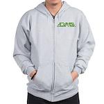 What a Geek Looks Like Zip Hoodie