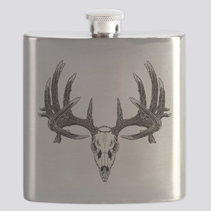 Big whitetail buck Flask