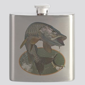 Musky Fishing Flask