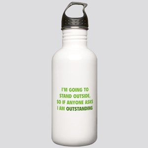 I Am Outstanding Stainless Water Bottle 1.0L