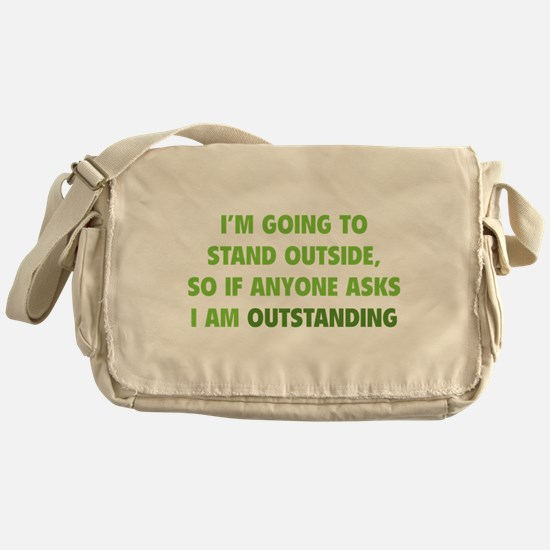 I Am Outstanding Messenger Bag