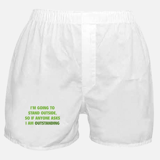I Am Outstanding Boxer Shorts
