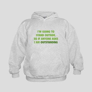 I Am Outstanding Kids Hoodie
