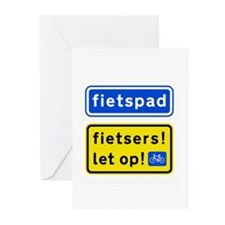 fietspadFietsers Greeting Cards (Pk of 20)