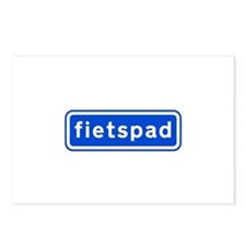 fietspad Postcards (Package of 8)