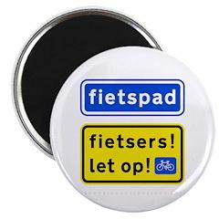 fietspadFietsers Magnet