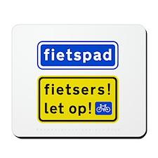 fietspadFietsers Mousepad