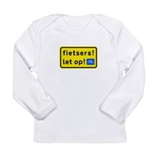 fietsers Long Sleeve Infant T-Shirt