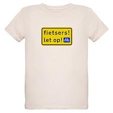 fietsers Organic Kids T-Shirt