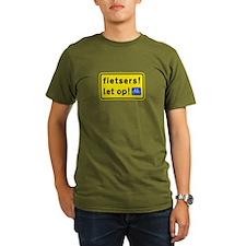 fietsers Organic Men's T-Shirt (dark)