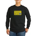 fietsers Long Sleeve Dark T-Shirt