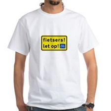 fietsers White T-Shirt