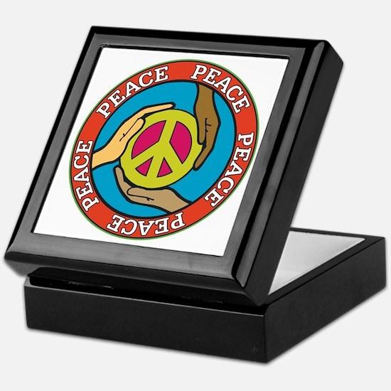 Hands of Peace Keepsake Box