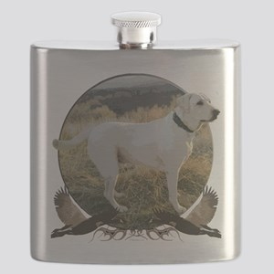 White lab Flask