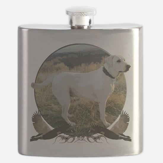 White lab Flask
