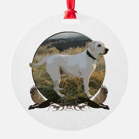 White lab Ornament