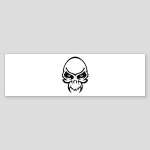 Evil Skull Sticker (Bumper)