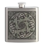 Celtic Spiral Stepping Stone Flask