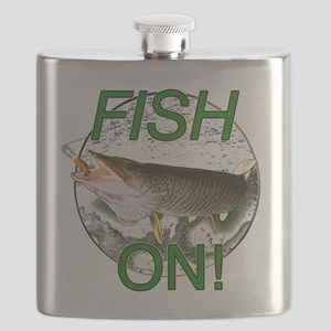 Musky fish on! Flask