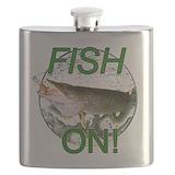 Musky fishing Flask Bottles