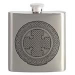 Celtic Cross Flask
