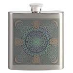 Celtic Eye of the World Flask