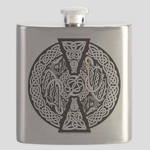 Celtic Dragons Flask