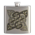 Celtic Dark Sigil Flask