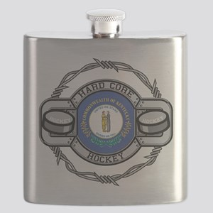 Kentucky Hockey Flask