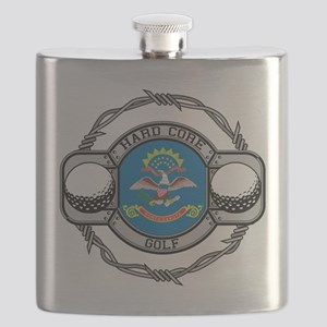 North Dakota Golf Flask