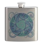 Celtic Planet Flask